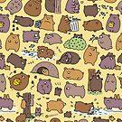 «Osos lindos beary» de KiraKiraDoodles