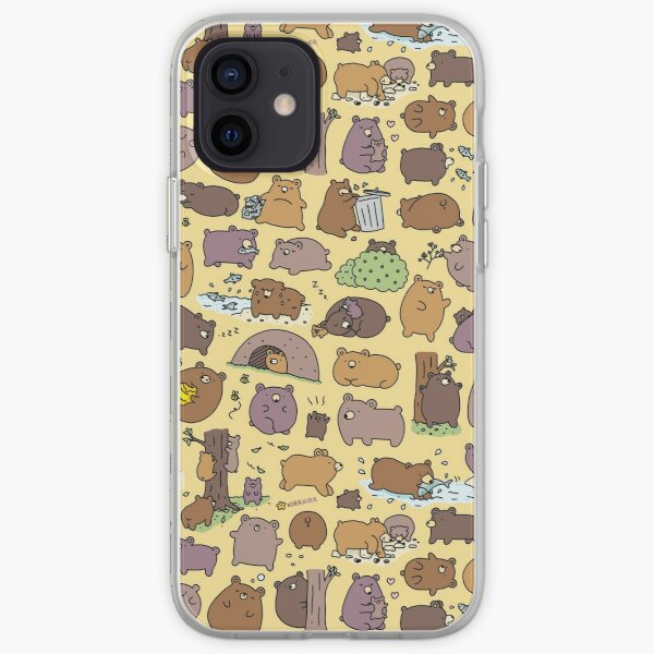 Beary Cute Bears iPhone Soft Case