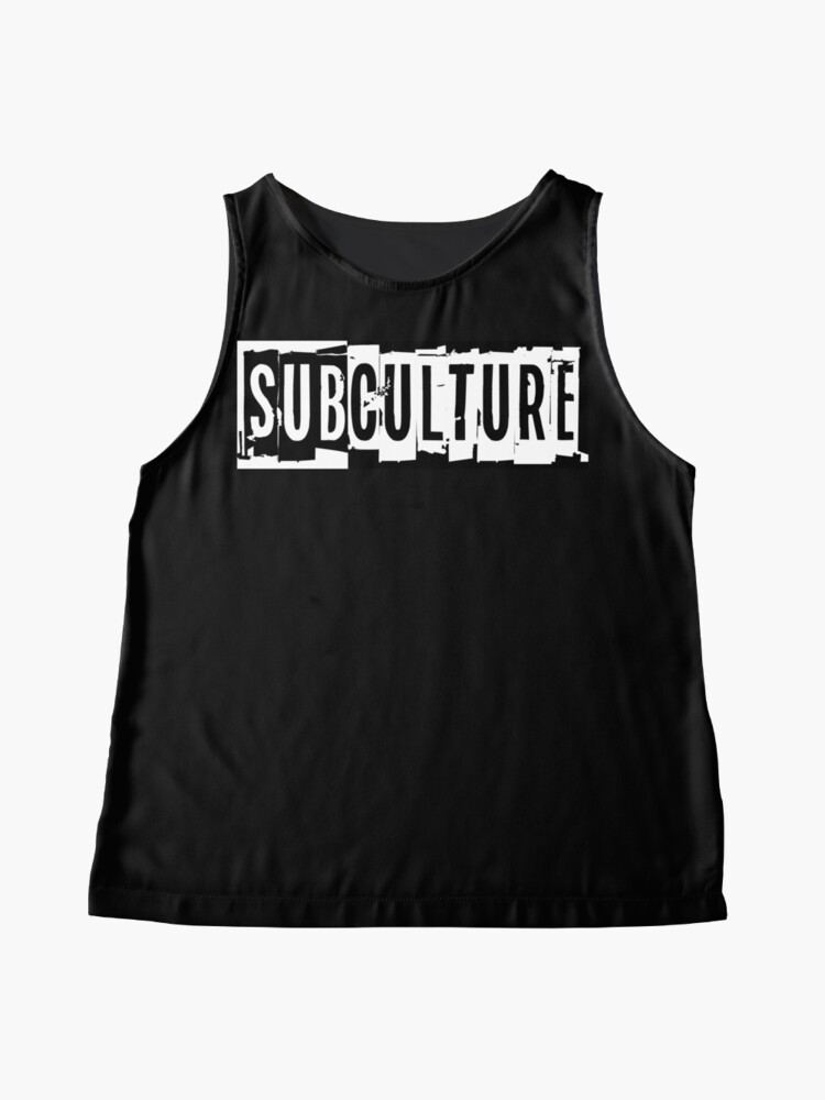Alternate view of Sub Culture:  Apparel & Accessories Sleeveless Top