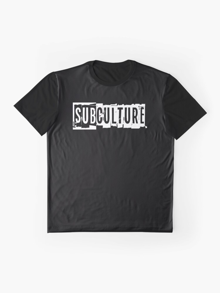 Alternate view of Sub Culture:  Apparel & Accessories Graphic T-Shirt