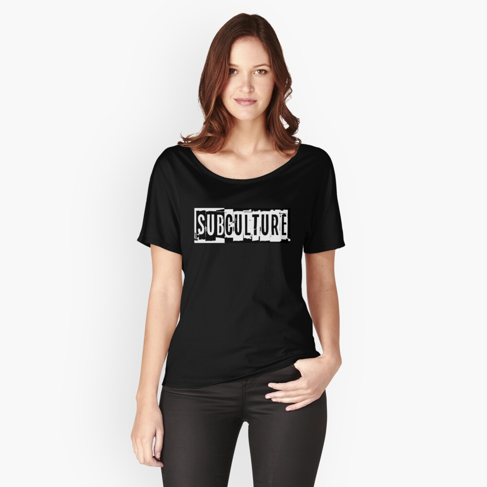 Sub Culture:  Apparel & Accessories Relaxed Fit T-Shirt