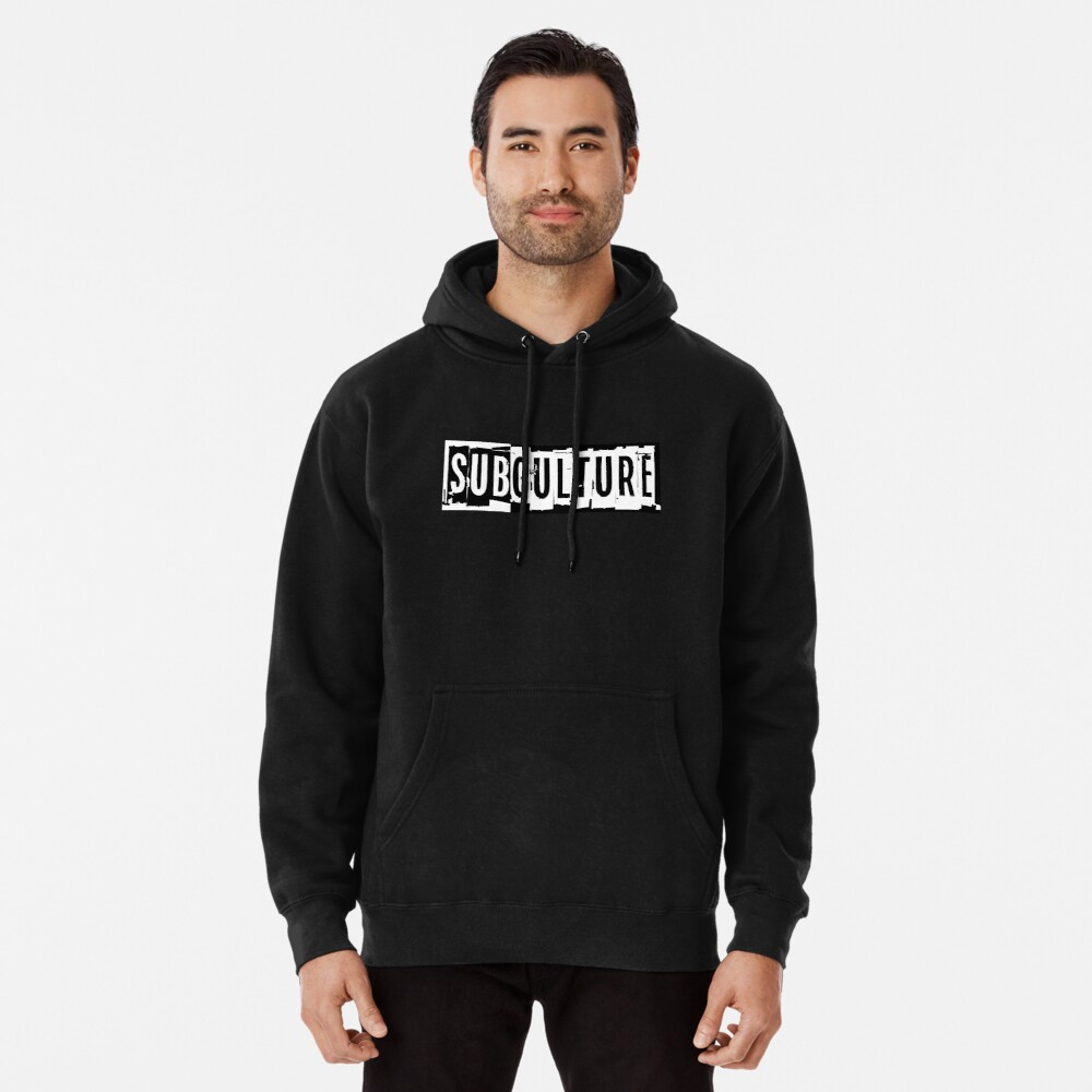 Sub Culture:  Apparel & Accessories Pullover Hoodie