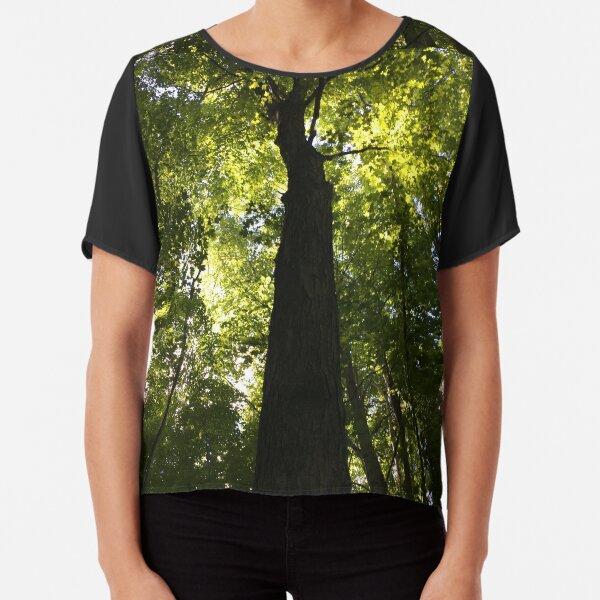 Tree Chiffon Top