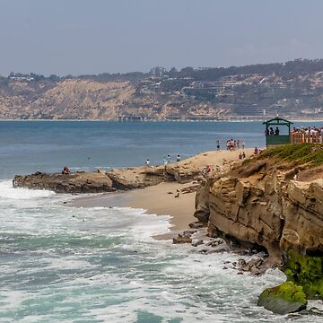 La Jolla Cove is a small, picturesque cove and beach that is surrounded by cliffs in La Jolla, San Diego, California, USA. by PhotoStock-Isra