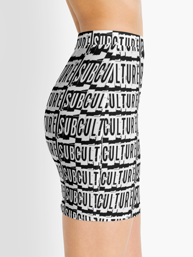 Alternate view of Sub Culture:  Apparel & Accessories Mini Skirt