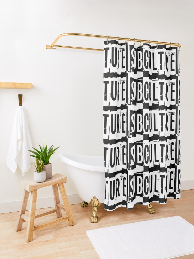 Alternate view of Sub Culture:  Apparel & Accessories Shower Curtain