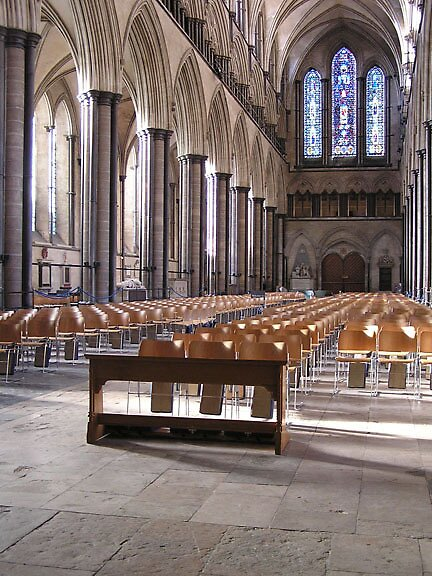 Salisbury Nave by Andrew  Bailey