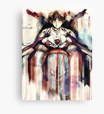 Shinji Evangelion Anime Tra Digitale Malerei Leinwanddruck