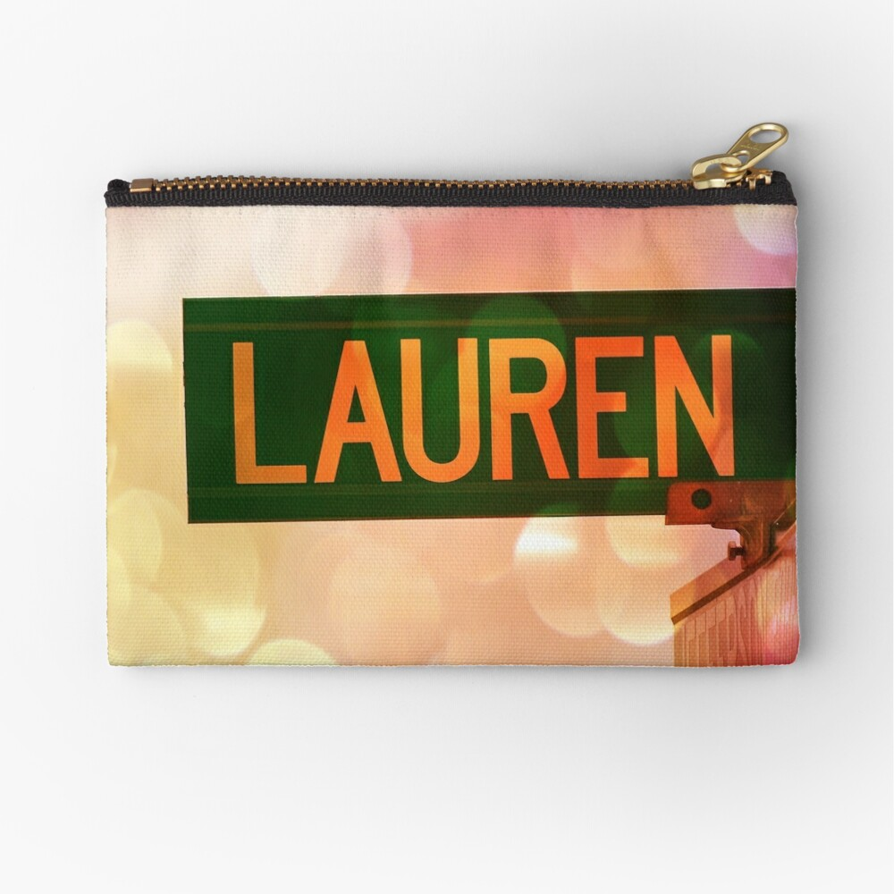 Lauren  Zipper Pouch