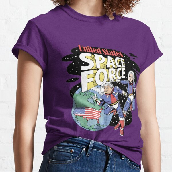Trump and Pence, SPACE FORCE Classic T-Shirt