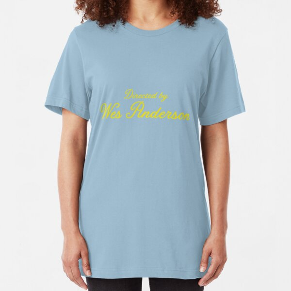 Directed by Wes Anderson  Slim Fit T-Shirt