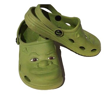 Shrek on the Croc by apollosale