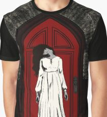 Bent Neck Lady Graphic T-Shirt