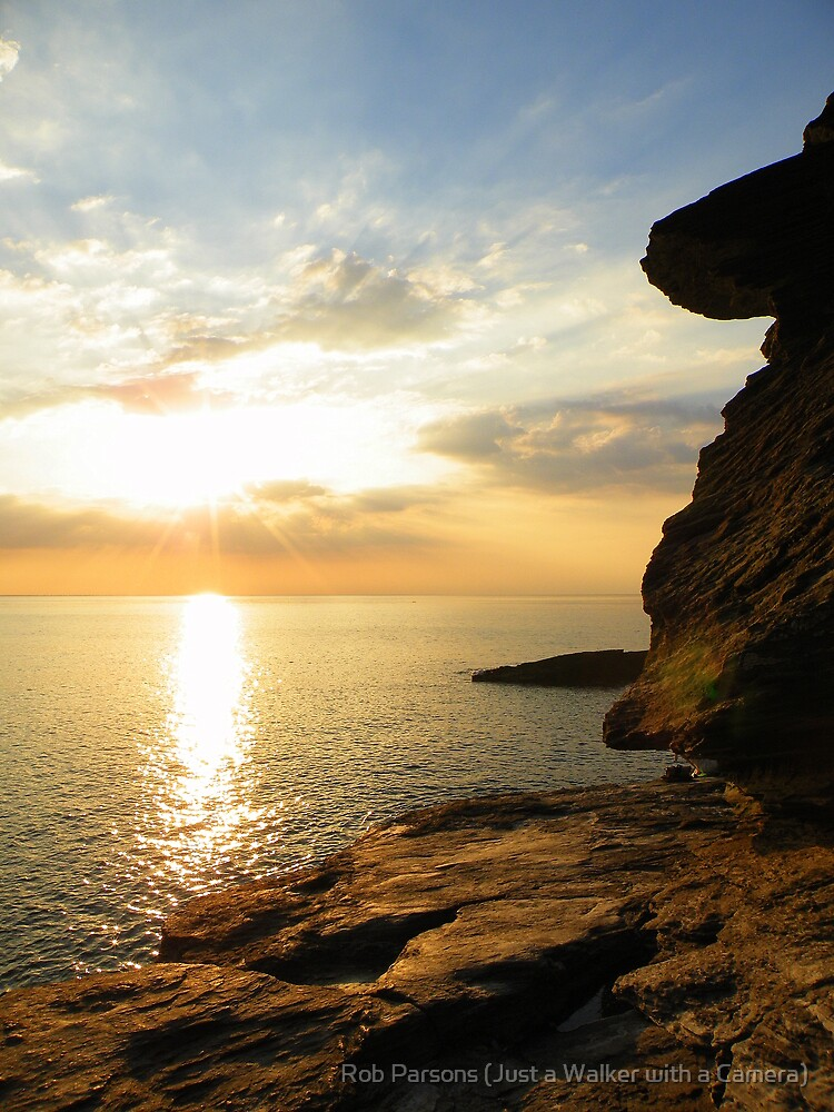 Cornwall: Sunburst by Rob Parsons (AKA Just a Walker with a Camera)