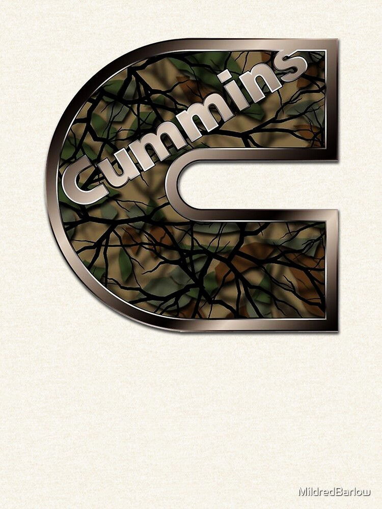 Turbo Diesel Dodge Cummins Army Logo by MildredBarlow