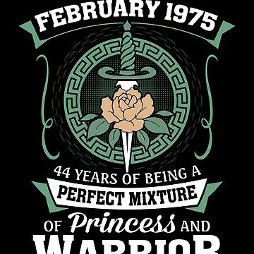 February 1975 Perfect Mixture Of Princess And Warrior by lavatarnt
