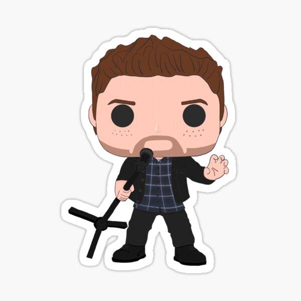 Rockstar Jensen Ackles Sticker