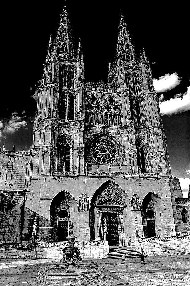 Burgos' Cathedral by leoteles