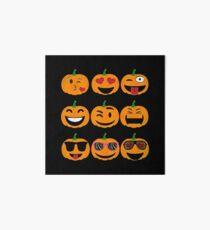 Emoji Pumpkin Halloween Art Board
