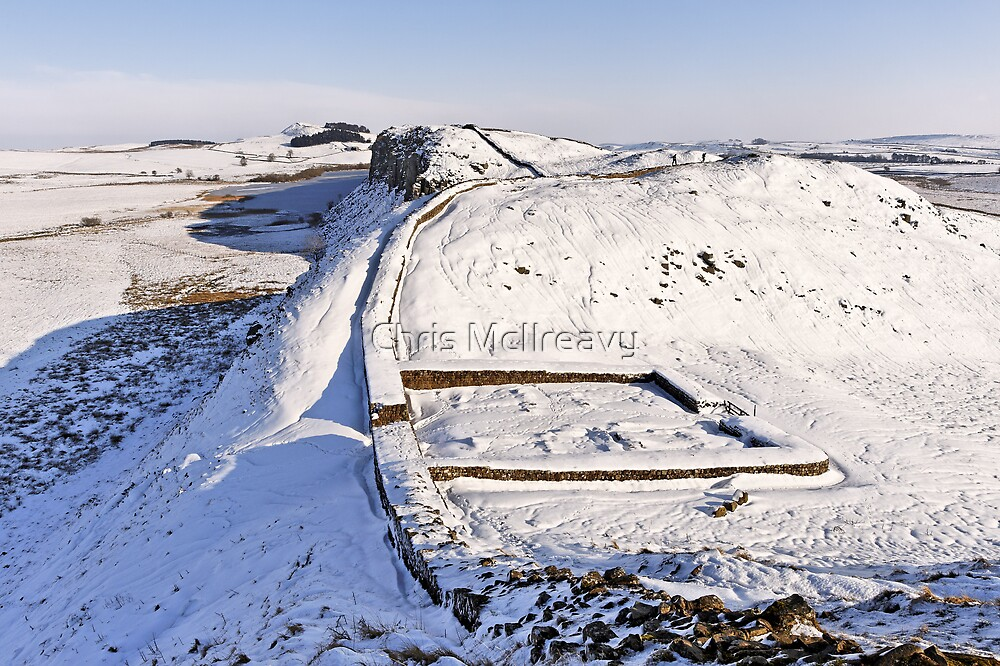 Hadrian's Wall,  Milecastle 39 by Chris McIlreavy