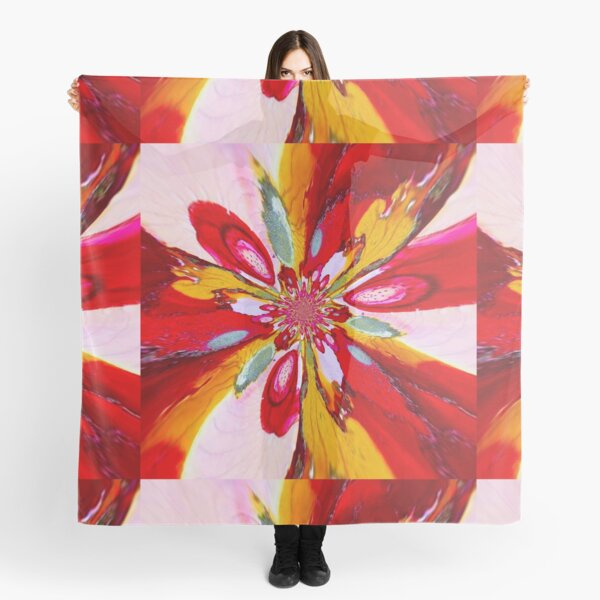 Flurry of colors  Scarf
