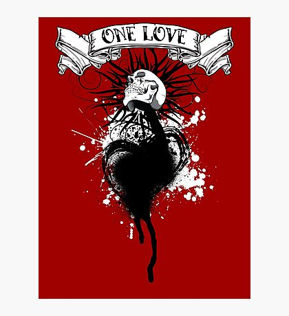One Love Photographic Print