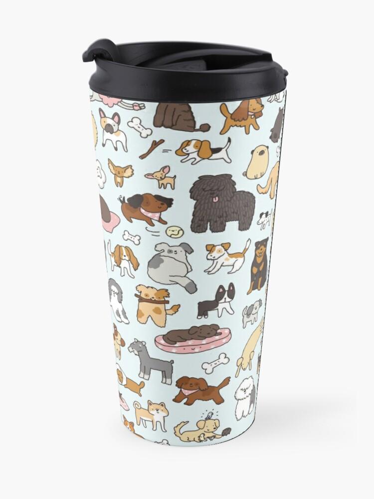 Alternate view of Doggy Doodle Travel Mug