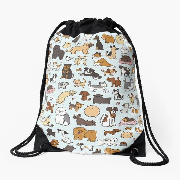 Doggy Doodle Drawstring Bag