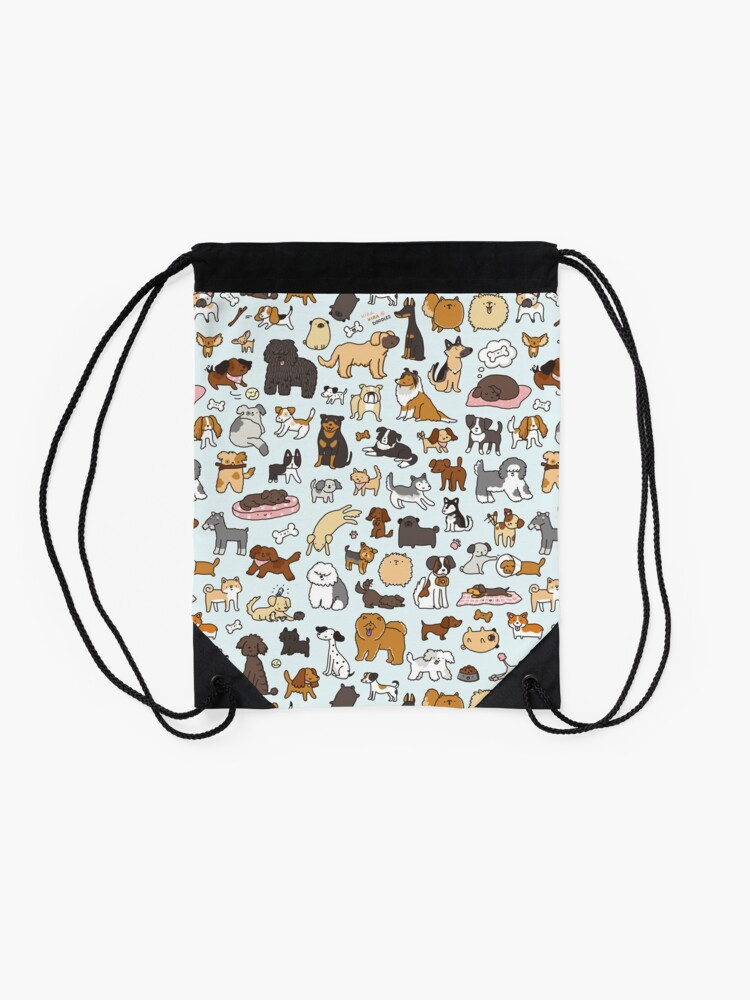 Alternate view of Doggy Doodle Drawstring Bag