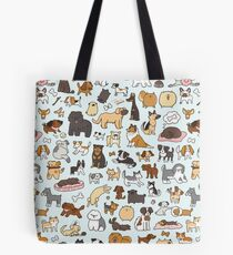 Doggy Doodle Tote Bag