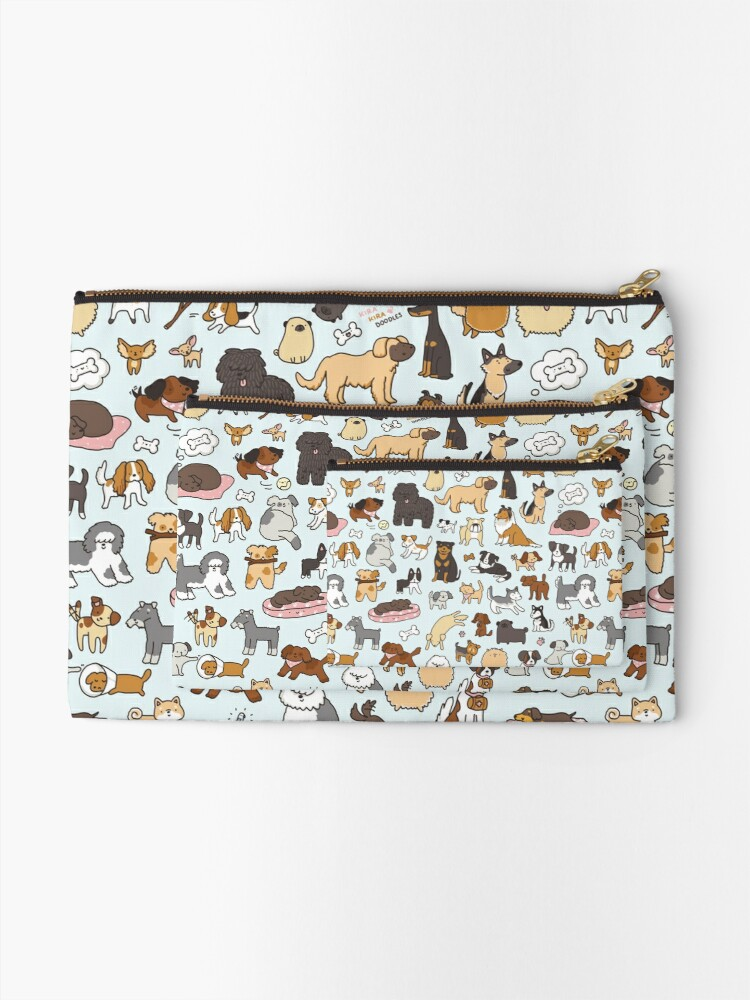Alternate view of Doggy Doodle Zipper Pouch