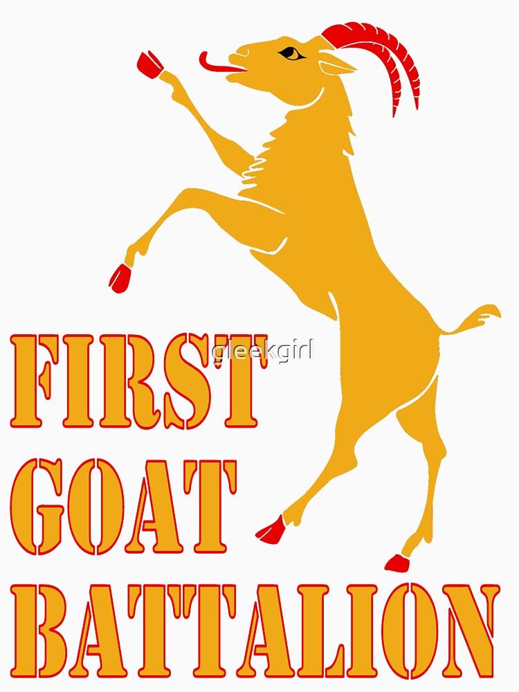 First Goat Battalion by gleekgirl