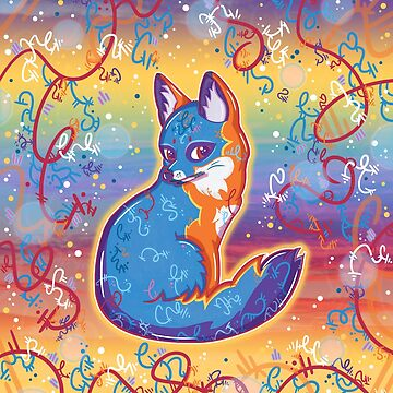 Magical Gray Fox by vanillakirsty