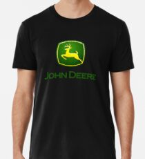 john deere farming Men's Premium T-Shirt