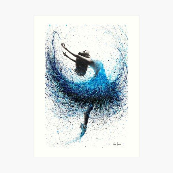 Ocean Mist Dance Art Print