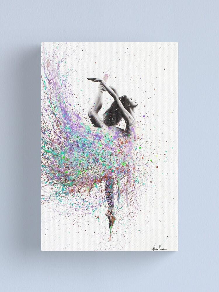 Alternate view of Opal Dance Canvas Print