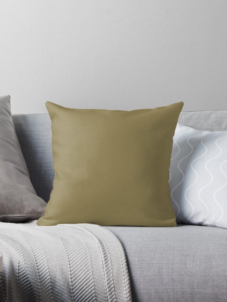Beautiful Cushions/ Plain Dark tan by ozcushions