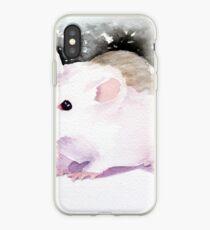 Star, the fancy rat. iPhone Case