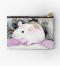 Star, the fancy rat. Studio Pouch
