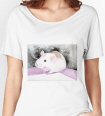 Star, the fancy rat. Women's Relaxed Fit T-Shirt