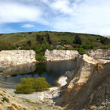 Blue Lake and St Bathans, Otago by belvoir