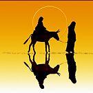 Journey to Betlehem by Valerie Anne Kelly