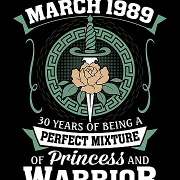 March 1989 Perfect Mixture Of Princess And Warrior by lavatarnt