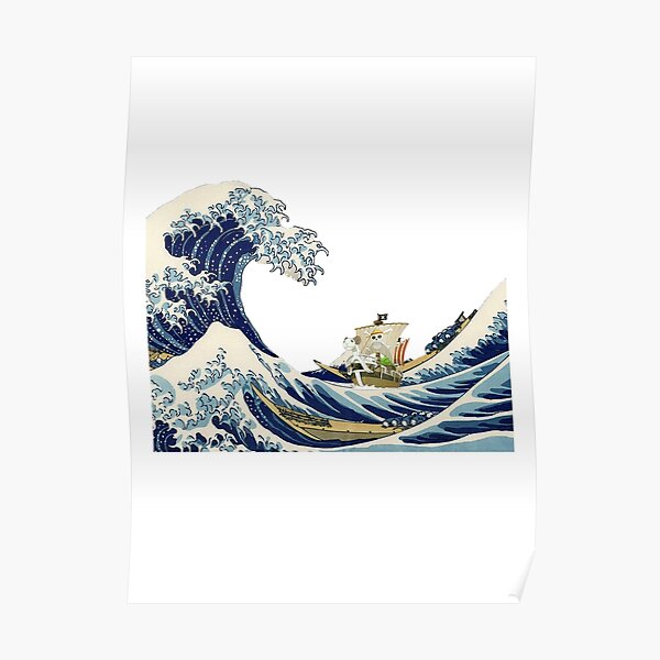 Going Merry Wave Poster