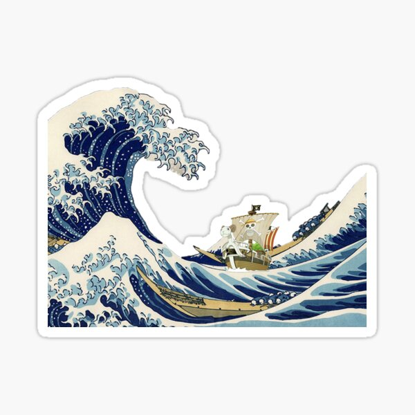 Going Merry Wave Sticker