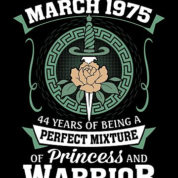 March 1975 Perfect Mixture Of Princess And Warrior by lavatarnt