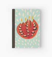 Abstract Red Tulip Flower In Spring Hardcover Journal