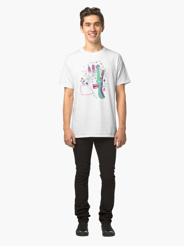 Alternate view of Speak to the hand Classic T-Shirt