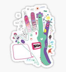 Speak to the hand Sticker
