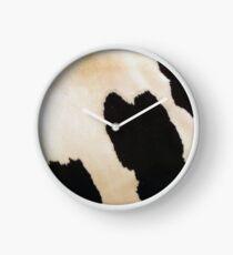 Cow Fur Clock